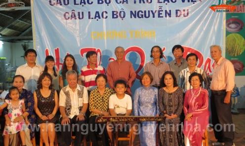 Kỷ lục tổ chức nhanh chưa từng có một chương trình Hát thơ Quốc đạo nhân ngày giỗ tổ năm 2014