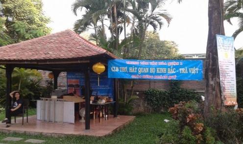 Nhóm hát thơ giao lưu Đông Nam Á tham gia liên hoan các câu lạc bộ thơ Tp.HCM