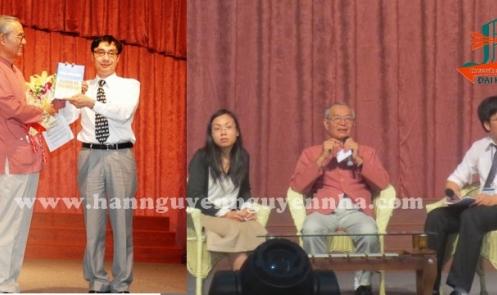 Nói chuyện chuyên đề biển đảo tại Cao đẳng Văn hóa Nghệ thuật và Du lịch Sài Gòn (Saigonact)